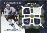2007/08 Upper Deck Black Diamond Jerseys #BDJMJ Milan Jurcina