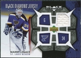 2007/08 Upper Deck Black Diamond Jerseys #BDJML Manny Legace