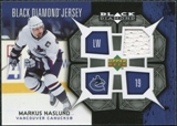 2007/08 Upper Deck Black Diamond Jerseys #BDJMN Markus Naslund