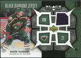 2007/08 Upper Deck Black Diamond Jerseys #BDJMP Mark Parrish