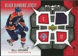 2007/08 Upper Deck Black Diamond Jerseys #BDJOJ Olli Jokinen