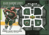 2007/08 Upper Deck Black Diamond Jerseys #BDJPB Pierre-Marc Bouchard