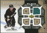 2007/08 Upper Deck Black Diamond Jerseys #BDJPC Corey Perry