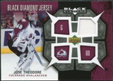 2007/08 Upper Deck Black Diamond Jerseys #BDJTH Jose Theodore