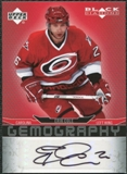 2007/08 Upper Deck Black Diamond Gemography #GCO Erik Cole Autograph