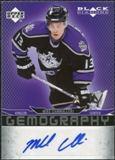 2007/08 Upper Deck Black Diamond Gemography #GMC Mike Cammalleri Autograph