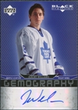 2007/08 Upper Deck Black Diamond Gemography #GWI Jeremy Williams Autograph