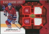 2007/08 Upper Deck Black Diamond Jerseys Ruby Dual #BDJAK Alexei Kovalev /100