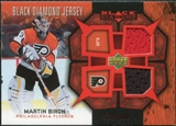 2007/08 Upper Deck Black Diamond Jerseys Ruby Dual #BDJBI Martin Biron /100