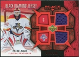 2007/08 Upper Deck Black Diamond Jerseys Ruby Dual #BDJEB Ed Belfour /100