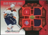 2007/08 Upper Deck Black Diamond Jerseys Ruby Dual #BDJJB Jay Bouwmeester /100
