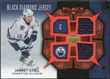 2007/08 Upper Deck Black Diamond Jerseys Ruby Dual #BDJJS Jarret Stoll /100