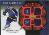 2007/08 Upper Deck Black Diamond Jerseys Ruby Dual #BDJKT Keith Tkachuk /100