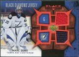 2007/08 Upper Deck Black Diamond Jerseys Ruby Dual #BDJMD Marc Denis /100