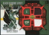 2007/08 Upper Deck Black Diamond Jerseys Ruby Dual #BDJMT Marty Turco /100