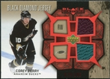 2007/08 Upper Deck Black Diamond Jerseys Ruby Dual #BDJPC Corey Perry /100