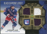 2007/08 Upper Deck Black Diamond Jerseys Gold Triple #BDJJJ Jaromir Jagr /25