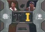 2007/08 Upper Deck SPx Winning Materials Combos #BO Chris Bosh Jermaine O'Neal