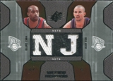 2007/08 Upper Deck SPx Winning Materials Combos #KC Vince Carter Jason Kidd