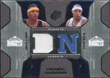 2007/08 Upper Deck SPx Winning Materials Combos #MA Carmelo Anthony Kenyon Martin