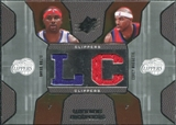 2007/08 Upper Deck SPx Winning Materials Combos #MB Elton Brand Corey Maggette