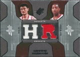 2007/08 Upper Deck SPx Winning Materials Combos #MM Yao Ming Tracy McGrady