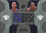 2007/08 Upper Deck SPx Winning Materials Combos #MR Stephon Marbury Zach Randolph