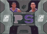 2007/08 Upper Deck SPx Winning Materials Combos #SD Amare Stoudemire Boris Diaw