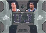 2007/08 Upper Deck SPx Winning Materials Combos #WM Deron Williams Paul Millsap
