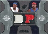 2007/08 Upper Deck SPx Winning Materials Combos #WW Chris Webber Rasheed Wallace