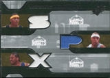 2007/08 Upper Deck SPx Winning Materials Triples #AMN Carmelo Anthony Kenyon Martin Nene