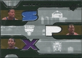 2007/08 Upper Deck SPx Winning Materials Triples #CAW Marcus Camby Ben Wallace Ron Artest