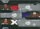 2007/08 Upper Deck SPx Winning Materials Triples #MBL Elton Brand Corey Maggette Shaun Livingston