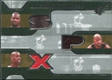 2007/08 Upper Deck SPx Winning Materials Triples #PMO Shaquille O'Neal Alonzo Mourning Gary Payton