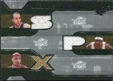 2007/08 Upper Deck SPx Winning Materials Triples #ZGJ Zydrunas Ilgauskas Larry Hughes Drew Gooden