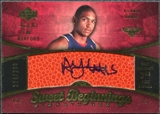 2007/08 Upper Deck Sweet Shot #91 Al Horford RC Autograph /299