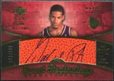 2007/08 Upper Deck Sweet Shot #110 Sean Williams RC Autograph /699