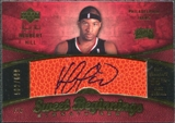 2007/08 Upper Deck Sweet Shot #127 Herbert Hill RC Autograph /699