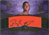 2007/08 Upper Deck Sweet Shot #129 D.J. Strawberry Autograph /699