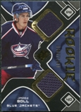 2007/08 Upper Deck SPx #186 Jared Boll RC Jersey /1599
