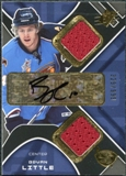 2007/08 Upper Deck SPx #203 Bryan Little RC Jersey Autograph /999