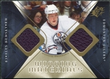 2007/08 Upper Deck SPx Winning Materials #WMAH Ales Hemsky