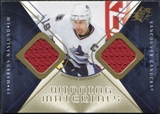 2007/08 Upper Deck SPx Winning Materials #WMMN Markus Naslund