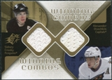 2007/08 Upper Deck SPx Winning Combos #WCCO Sidney Crosby Alexander Ovechkin