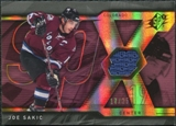 2007/08 Upper Deck SPx Spectrum #22 Joe Sakic Jersey /25