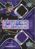 2007/08 Upper Deck SPx Spectrum #213 Jack Johnson Jersey Autograph /25
