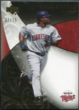 2007 Upper Deck Exquisite Collection Rookie Signatures Gold #25 Torii Hunter /75