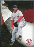 2007 Upper Deck Exquisite Collection Rookie Signatures Gold #43 Josh Beckett /75