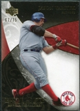 2007 Upper Deck Exquisite Collection Rookie Signatures Gold #50 Jason Varitek /75