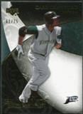2007 Upper Deck Exquisite Collection Rookie Signatures Gold #52 Carl Crawford /75